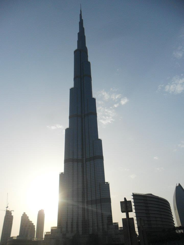 Burj Al Khalifa - The tallest building in the world