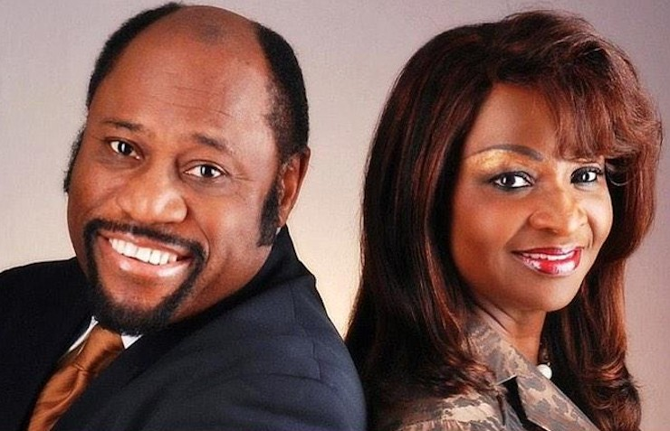 Myles Munroe and his wife Ruth Ann