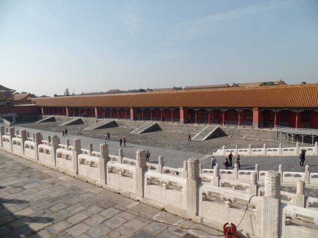 Courtyard in The Forbidden City
